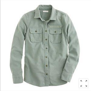 J. Crew Military Pocket Shirt